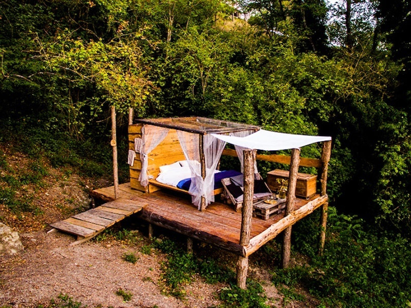 Glamping in Italy at Novanta, Tuscany