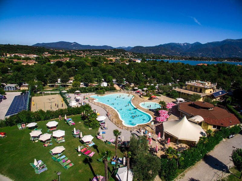 Glamping in Italy atCamping Baia Verde, Lombardy