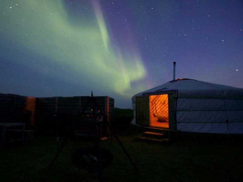 Glamping in Iceland atTraustholtshólmi, Selfoss