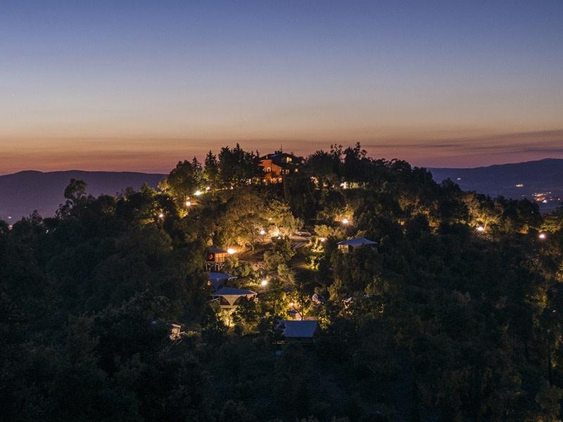 Glamping in Italy atVedetta Lodges, Tuscany
