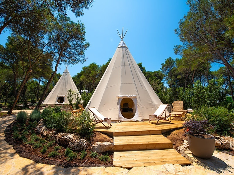 Glamping in Croatia at Arena One 99, Istria