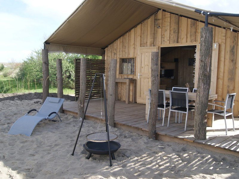 Glamping in The Netherlands at Strandpark De Zeeuwse Kust, Zealand