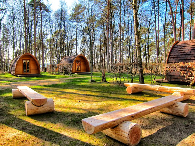 Glamping in Luxembourg atCamping Martbusch