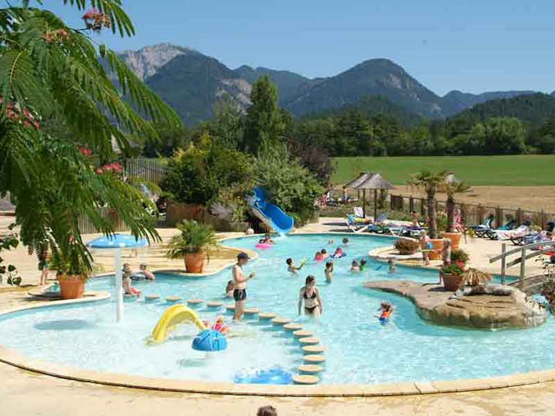 Glamping in France at Camping L'Hirondelle, Rhone-Alpes