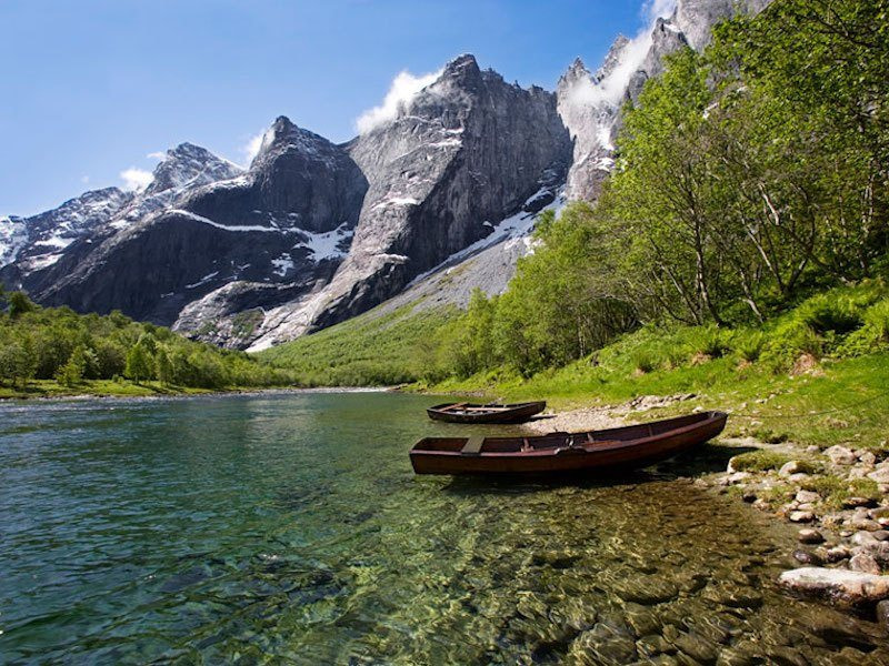Glamping in Norway atTrollveggen Camping