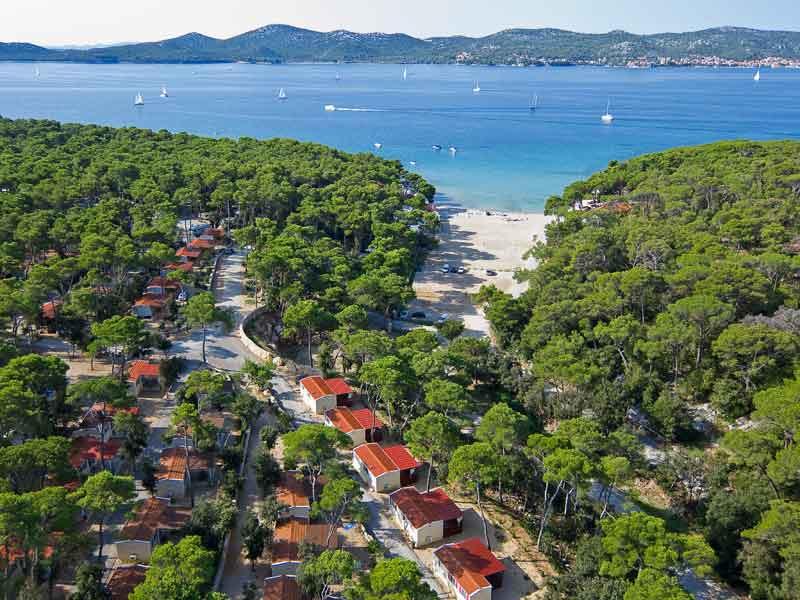 Glamping in Croatia atKrk Premium Camping Resort