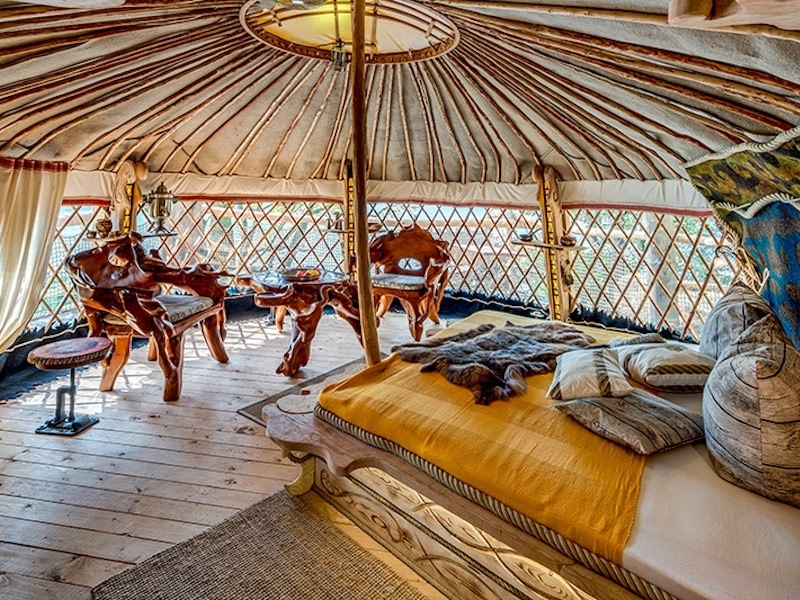 Glamping in Germany atKriebelland, Saxony