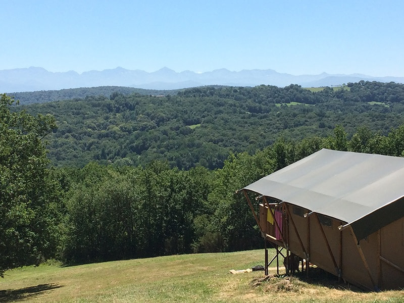 Glamping in France atToubies Glamping, Midi-Pyrénées