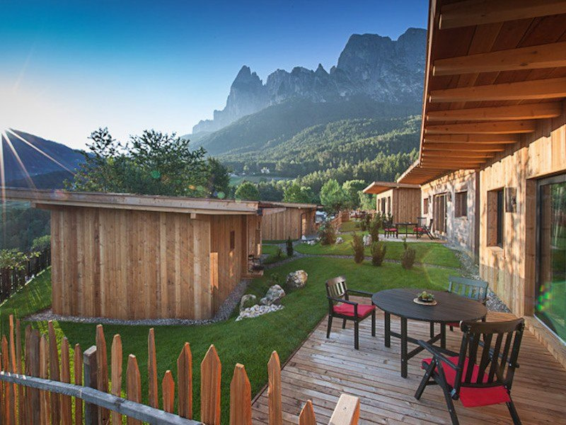 Glamping in Italy atCamping Seiser Alm, Trentino